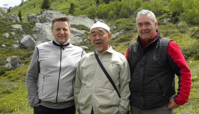 Da sinistra Marco Nones, Hidetoshi Nagasawa e Giampaolo Osele - www.respirart.com