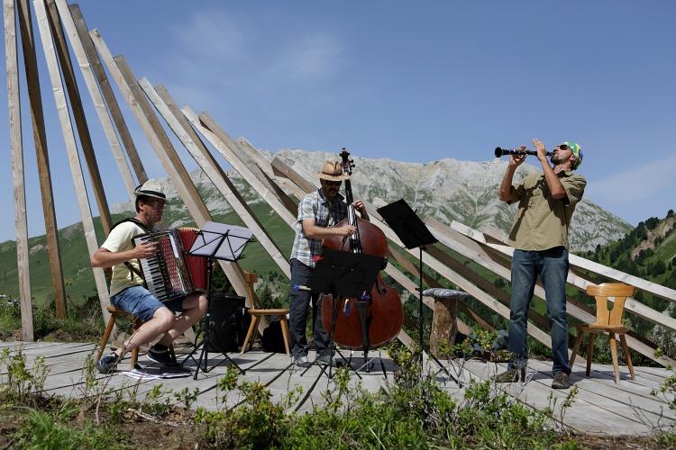 Carlos Garden Trio - foto Eugenio Del Pero