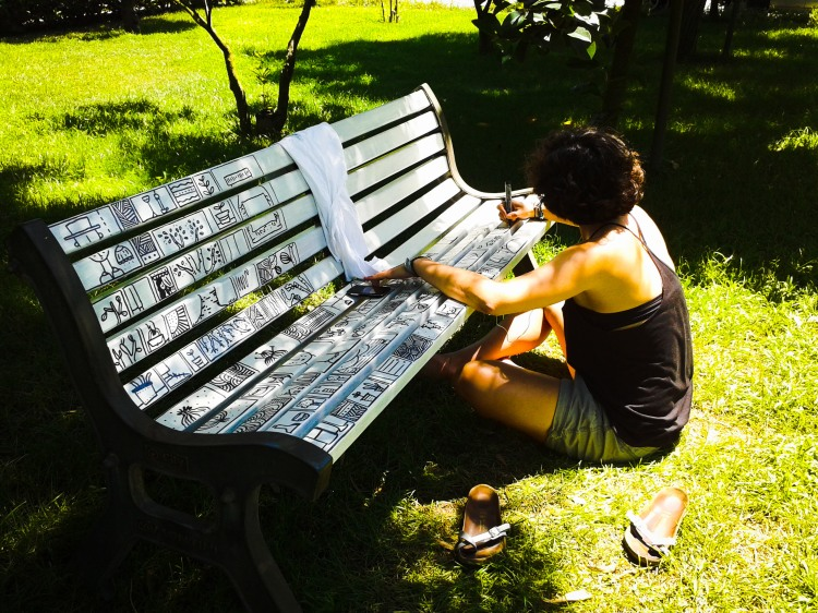 storie sedute di Giulia Tondelli artista