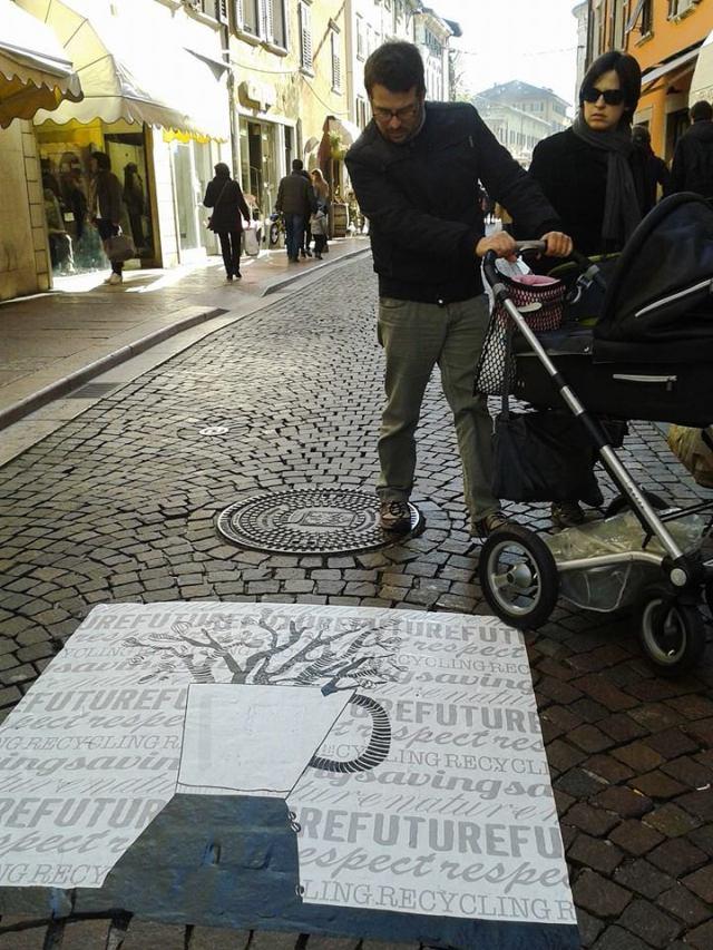 argemo srteet art sostenibile trento