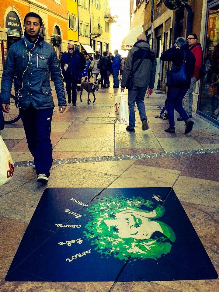 dream Giacomo Jah Bettega sreet art sostenibile