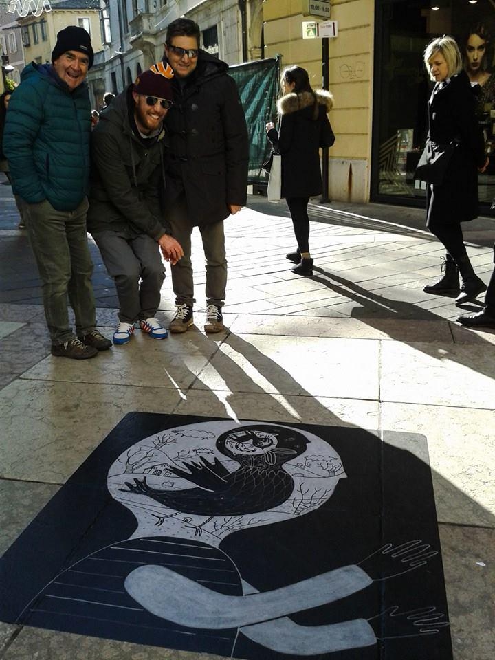 giulia tondelli srteet art sostenibie Trento