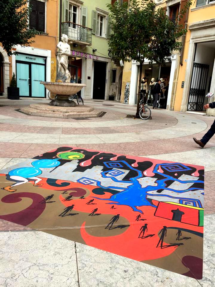 opera street art fi GIACOMO JAH BETTEGA Mercatino di Trento