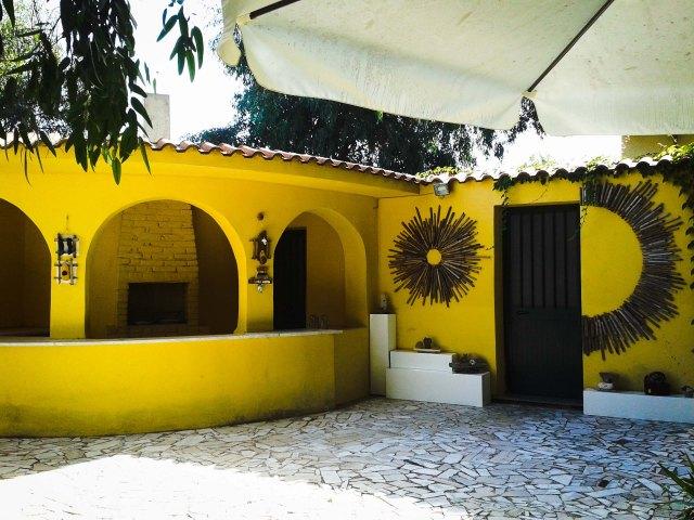Installazioni d'arte di Alessandra Bruno Le Dune Blu Resort p