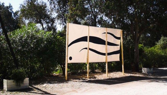 OMBRE DI DUNE Installazione di Marco Nones RespirArt 2015 Blu Gallery