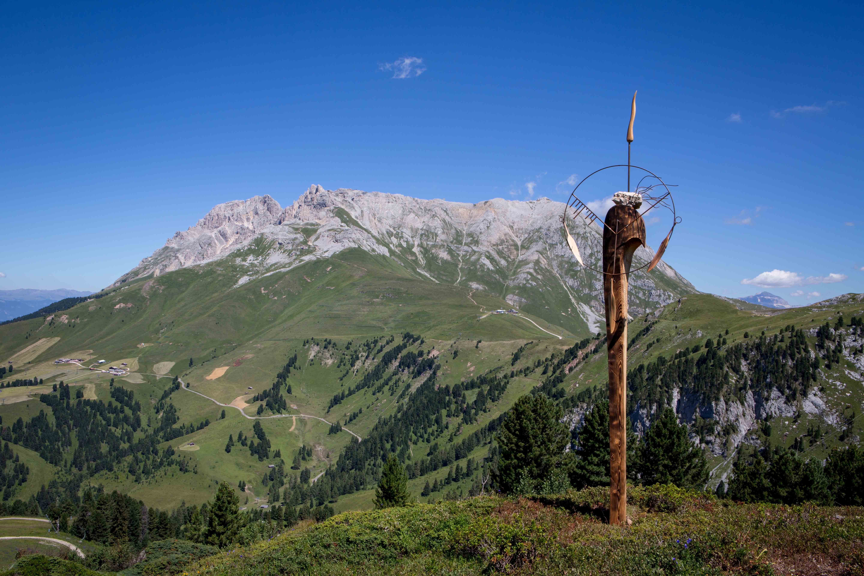 1 Guerriero di Pace delle Dolomiti di Torsten Schùtt RESPIRART 2016 foto eugenio Del Pero p
