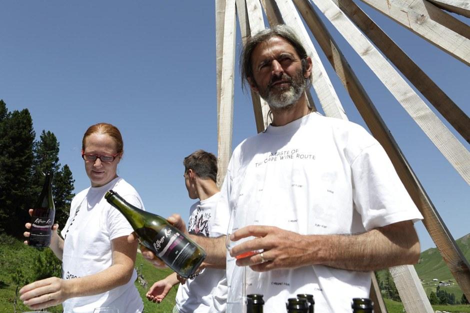 Eugenio Rosi  degustazione a RespirArt 2013