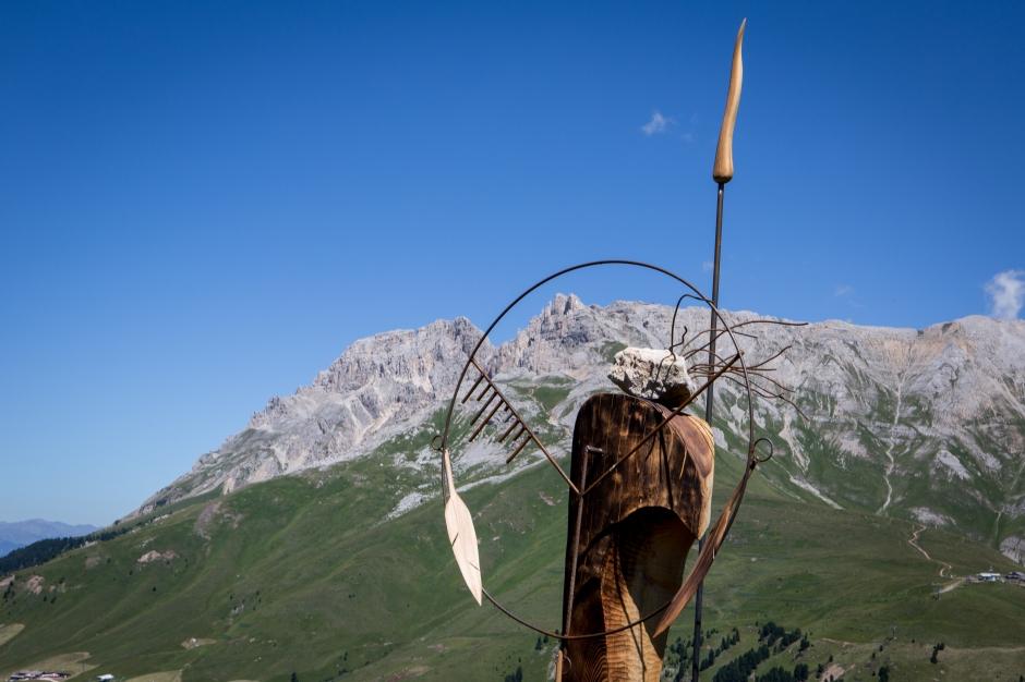 Guerriero di Pace delle Dolomiti di Torsten Schùtt RESPIRART 2016 foto eugenio Del Pero 4