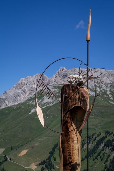 Guerriero di Pace delle Dolomiti di Torsten Schùtt RESPIRART 2016 foto eugenio Del Pero 6
