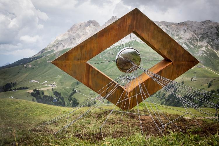 Vedo non vedo opera di Luca Prosser RESPIRART 2016
