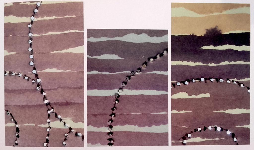 Gli-acquarelli-perforati-di-Alessandra-Bruno-1024x606